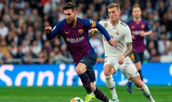 Previa para el Barcelona vs Real Madrid de la Liga Santander