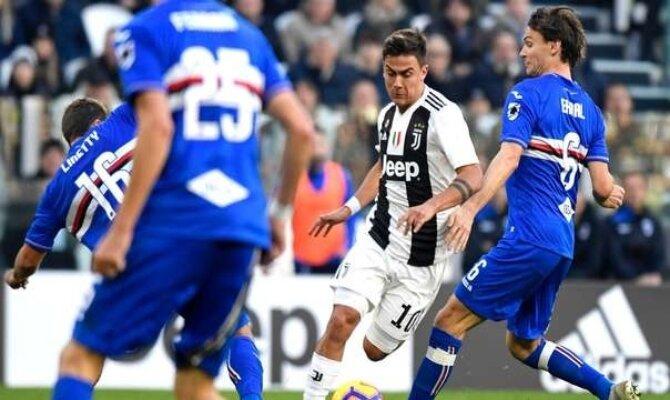 Previa para el Sampdoria vs Juventus de la Serie A de Italia