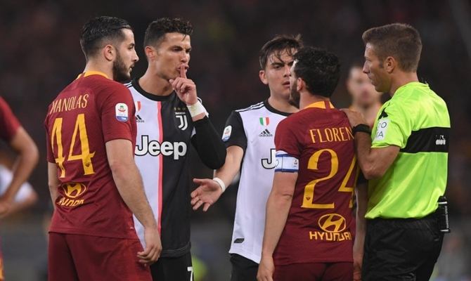 Previa para el Roma vs Juventus de la Serie A de Italia