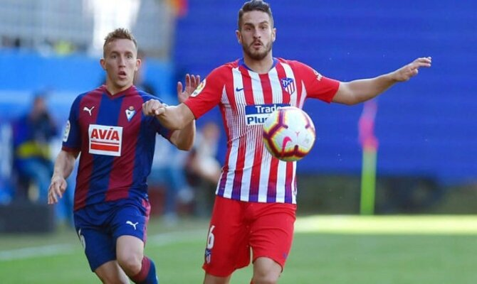 Previa para el Eibar vs Atlético de Madrid de la Liga Santander