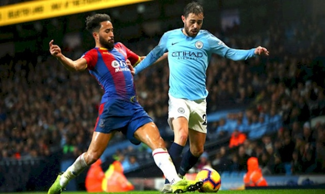 Previa para el Manchester City vs Crystal Palace de la Premier League