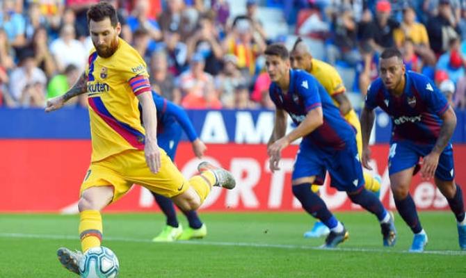 Previa para el Barcelona vs Levante de la Liga Santander