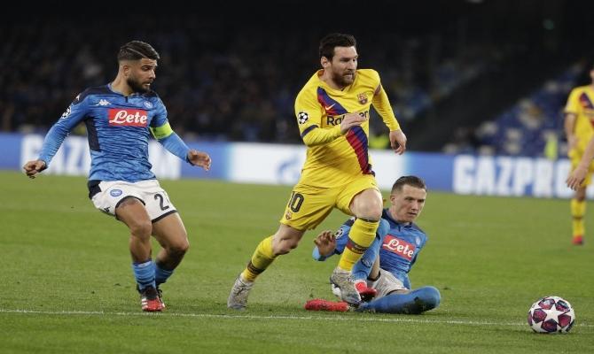 Previa para el Barcelona vs Napoli de la UEFA Champions League