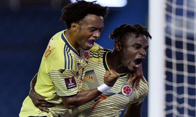 Previa para el Colombia vs Uruguay de las Eliminatorias CONMEBOL