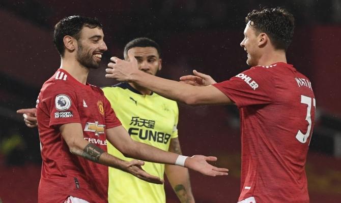 Bruno Fernandes quiere seguir siendo protagonista en la vuelta de este Manchester United vs Real Sociedad