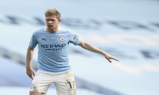 De Bruyne quiere seguir dominando la ciudad en este clásico entre Manchester City vs Manchester United