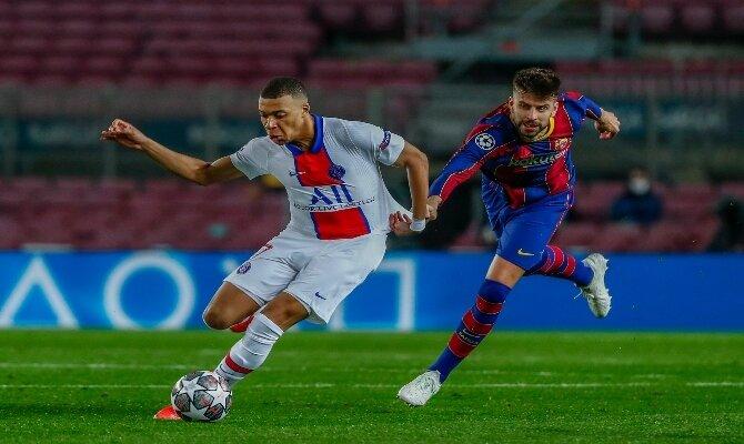 Mbappe quiere ser nuevamente la gran figura en Francia para abrochar la serie entre PSG vs Barcelona