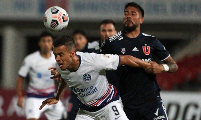 Franco di Santo quiere ser el gran héroe de este San Lorenzo vs Universidad de Chile